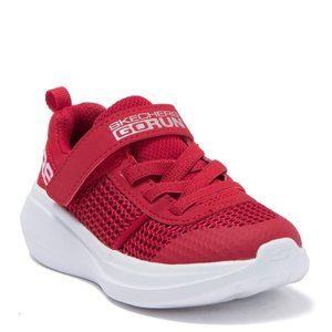 Skechers Boys Red Go Run Fast Tharo Sneaker Size 9